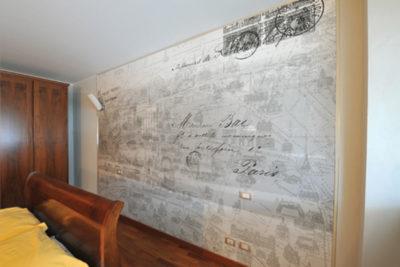 ristrutturazione parete camera