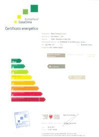 certificato energetico condominio girasole