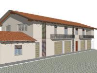 progetto restauro case adiacenti