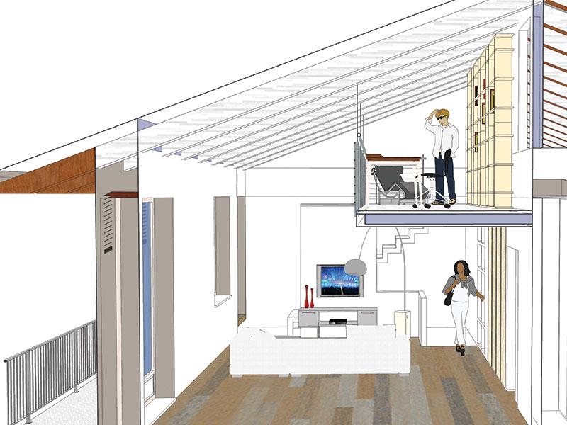 progetto restauro interni