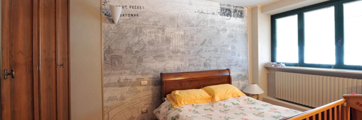 restyling canale camera letto parete